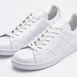 White Mountaineering × adidas Originals - Stan Smith Patent
