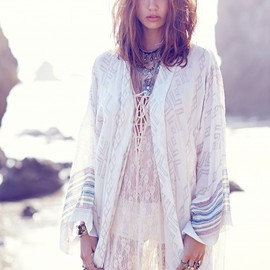 FP ONE - FP ONE Patterned Kimono Jacket