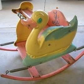 50's rocking chair