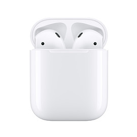 Apple - AirPods (2nd generation) with Charging Case