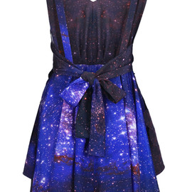 ROMWE - Galaxy Print Dress