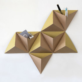 tri-angles triangles décoration mur wall papier tigre