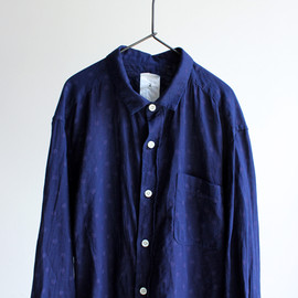 maillot - Sunset indigo dot shirts