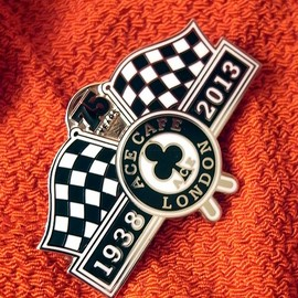 ACE CAFE LONDON - 1938-2013 75th Anni Badge