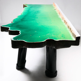 gaetano pesce - lake table