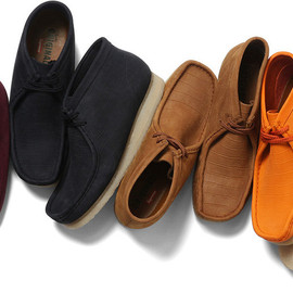 Clarks®/Supreme - Wallabee Boot