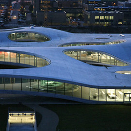 Sanaa - Rolex Learning Center, Switzerland