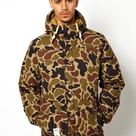 addict - Addict Down Filled Camo Parka With Hood