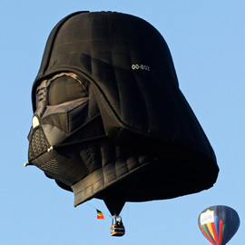 STAR WARS - LIGHT SIDE OF THE FORCE A Darth Vader hot air balloon