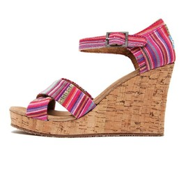 TOMS/トムス - 「TOMS/トムス」STRAPPY WEDGES