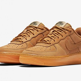 NIKE - Air Force 1 Low GS - Flax/Flax
