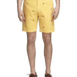 Brooks Brothers - Barbecue Embroidered Shorts