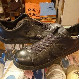 "converse - 「<used>70-80's converse ALLSTAR OFFICIAL SHOE MEN'S PRO OX black/black""made in USA"" size:US10 19800yen」完売"