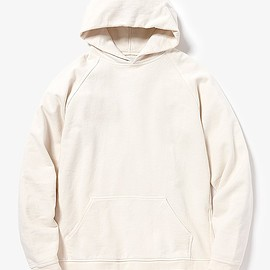 nonnative - COACH PULLOVER PARKA COTTON SWEAT OVERDYED for Pilgrim Surf + Supply