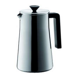 BODUM - BODUM Bistro Stainless Steel 8-Cup Coffee Maker, Double Wall, 1 Litre/ 34 oz