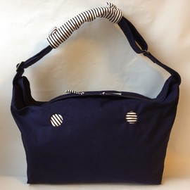 MMM MADE tujioka - A&W NAVY Shoulder Bag/ネイビーショルダー