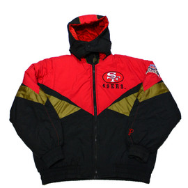 VINTAGE - Vintage 90s Pro Player San Francisco 49ers Jacket Mens Size Large