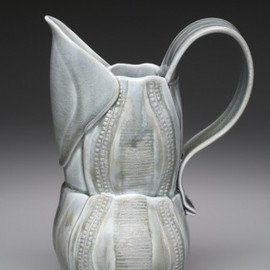 Marion Angelica - Blue Grey Pitcher, ceramic