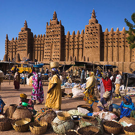 Mali - Great Mosque of Djenné