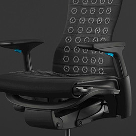 Herman Miller, Logitech G - Embody Gaming Chair - Black