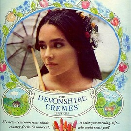 Devonshire Cremes by Yardley - Olivia Hussey 1969