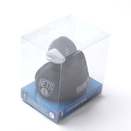 BROOKLYN NETS - BROOKLYN NETS TEAM VINYL DUCK FIGURE BLACK WHITE