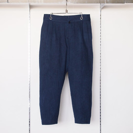 YAECA - Tapered Pants #navy