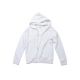 TAKAHIROMIYASHITA The SoloIst - long zip hoody. -white.-