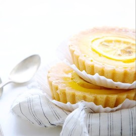Candied Lemon Tarts