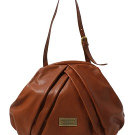 COSMIC WONDER Light Source - VEGETABLE TANNED LEATHER TUCKED HAND BAG