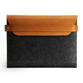 Mujjo - iPad Sleeve: Brown