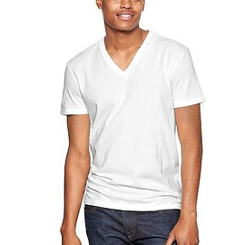 GAP - Essential deep V-neck T-shirt