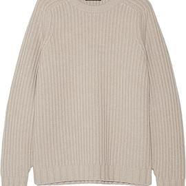 The Row - Keyes ribbed wool and cashmere-blend sweater