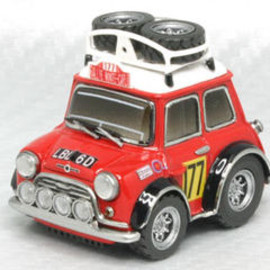 チョロQ - Morris MINI Cooper Rally Hand Made model Kit