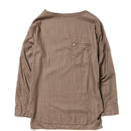 nonnative - DRIVER PULLOVER SHIRT - COTTON 80 SATIN
