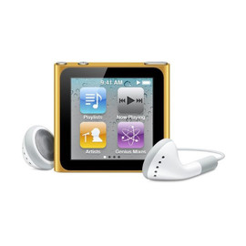 Apple - iPod nano 8GB (Orange)