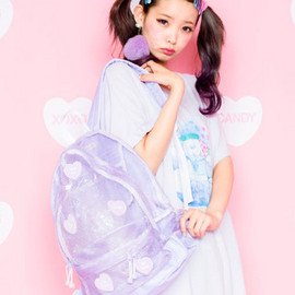 Candy Stripper - BE MY BABY RUCKSACK(LAVENDER)