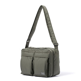 "HEAD PORTER - ""OLIVE DRAB"" SHOULDER BAG (L)"