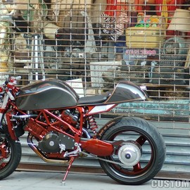 FOH Cycle (Full of Hate Cycle) - Ducati Cafè Racer