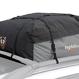 Rightline Gear - Rightline Gear 100S10 Sport 1 Car Top Carrier, 12 cu ft, Waterproof, Works With or Without Roof Rack