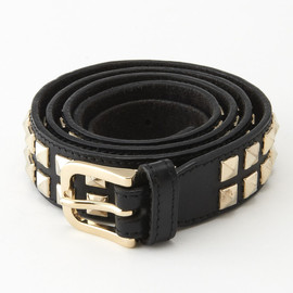 Burbery Prorsum - Leather Studded Belt