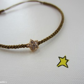 fordwych jewellery - ブレスレット【Sparkle】shooting star