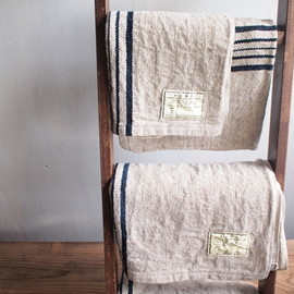 Linen Mole Face Towel