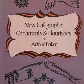 New Calligraphic Ornaments and Flourishes (Dover Pictorial Archive Series)
