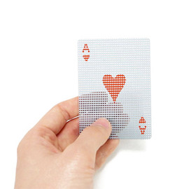 ROLF - Micro Dots Transparent card