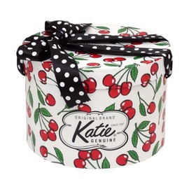 Katie - HAT BOX round ROCKA CHERRIES M