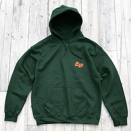 Sundays Best - SUNTACO PULLOVER HOODY/FOREST GREEN