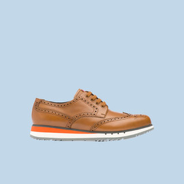PRADA - wing tip shoes