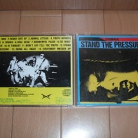 COBRA - Stand The Pressure CD(Pony Canyon ver.)