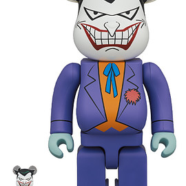 MEDICOM TOY - BE@RBRICK THE JOKER (BATMAN The Animated Series Ver.) 100% & 400%